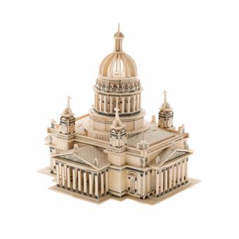 Bộ xếp hình 3D mô hình nhà thờ Issa Kiev