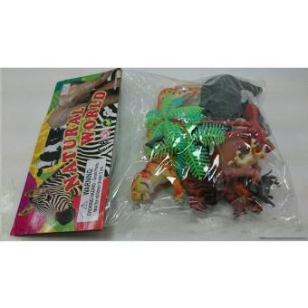 Bộ sưu tập ĐỘNG VẬT TRONG RỪNG bằng nhựa dẻo cho các bé