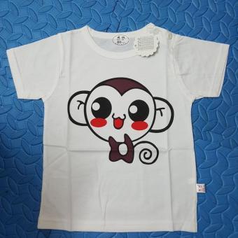 Áo thun 100% cotton thời trang dễ thương cho bé (Monkey)