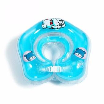 Phao tắm đỡ cổ cho bé màu xanh dương (Xanh)