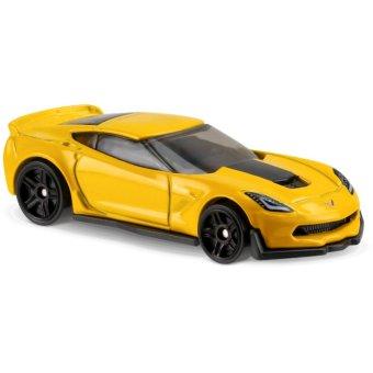 Xe ô tô mô hình tỉ lệ 1:64 Hot Wheels 2017 Corvette C7 Z06