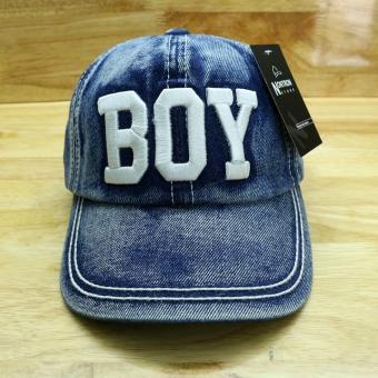 Nón trẻ Boy (xám )