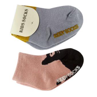 Bộ 2 đôi Tất Kiddy Socks cho bé yêu từ 6 tháng- 3 tuổi - Phú Đạt