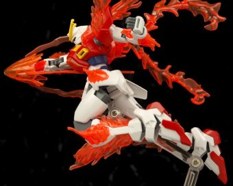 Mô hình lắp ráp BANDAI High Grade Build Fighters Try Burning Gundam