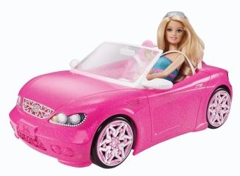 Xe hơi búp bê DGW23 (hồng)