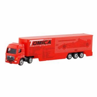 Xe ô tô mô hình container Tomica RacingTeam Transporter