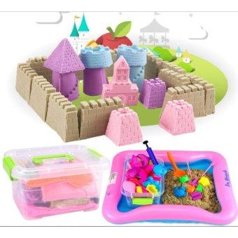 Bộ đồ chơi cát nặn vi sinh giúp bé phát triển sáng tạo