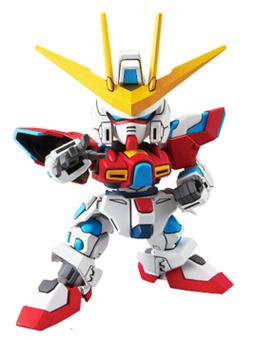 Mô hình lắp ráp Bandai SD EX-standard Gundam Try Burning