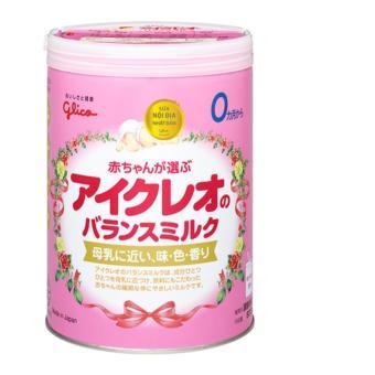 Sữa Glico ICREO số 0 (0-12 tháng) 800g(Vanilla)