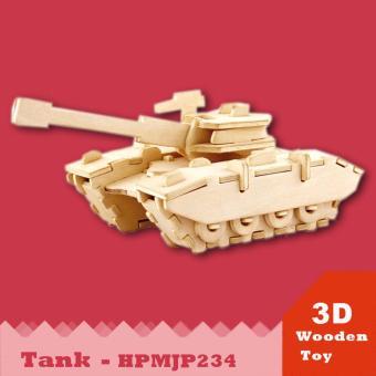 Mô hình 3D - Xe Tank HPMJP234