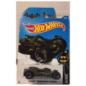 Xe mô hình tỉ lệ 1:64 Hot Wheels 2017 Batman : Arkham Knight Batmobile 88/365 - Xanh đen