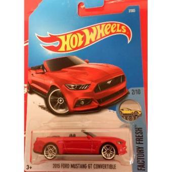 Xe Mô hình 1:64 Hot Wheels 2016 2015 Ford Mustang Gt Convertible