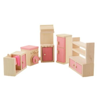 Wooden Doll Bathroom Furniture-Kitchen - intl