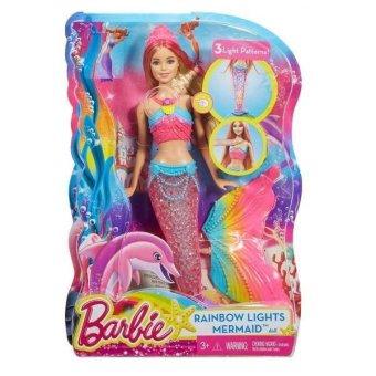 Búp bê phát sáng Nàng tiên cá Barbie Rainbow Lights