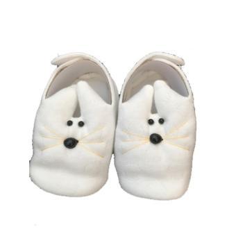 Giày chuột Hello B&B cho bé sơ sinh số 3 màu trắng