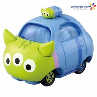 Xe mô hình Tomica Disney Tsum Top Ailen(Xanh)