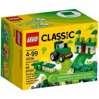 Bộ LEGO Classic 10708 Màu xanh lá 78 chi tiết