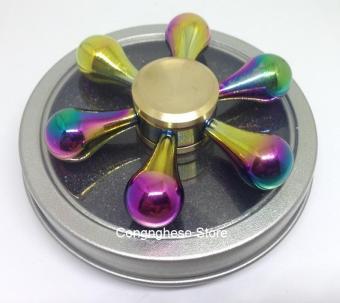 Con quay Spiner kim loại 6 cánh 7 màu cao cấp