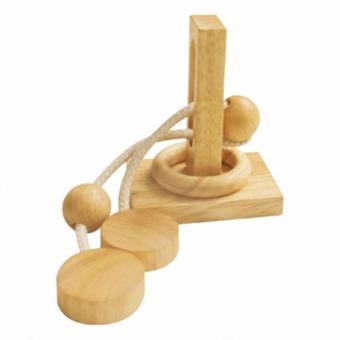 Đồ chơi trí tuệ bằng gỗ - Thách thức tháo vòng