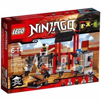 Bộ đồ chơi LEGO Kryptarium Prison Breakout