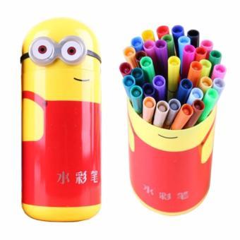 Hộp bút Minion thời trang( tặng bút chì màu)