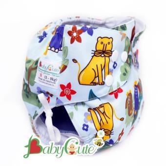 Bộ 1 Tã Vải Đêm Babycute Size S (3-9Kg)