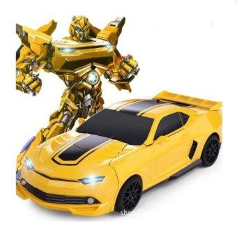 Xe ô tô biến hình thành Robot cho bé (Nhiều Màu)