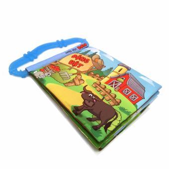 Sách vải kèm gặm nướu Pipo Việtnam chủ đề Động vật quanh bé