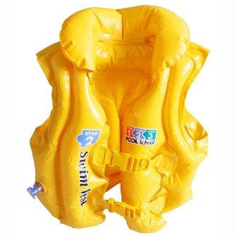 Áo phao bơi Intex 58660 (Vàng)
