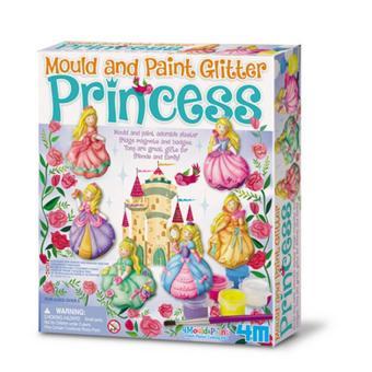 Đồ trang trí lấp lánh khuôn - Hình công chúa+ Tặng vòng tay sillicon cho trẻ em