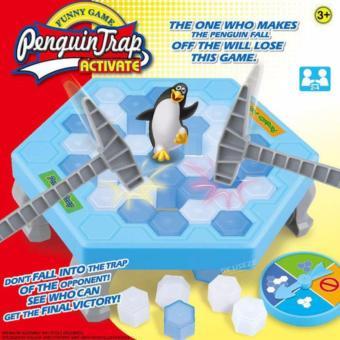 Trò chơi bẫy chim cánh cụt - phá băng vui nhộn ( xanh )