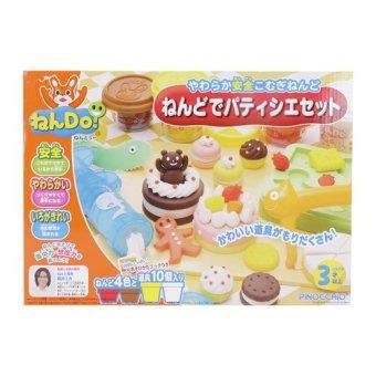 Bột nặn làm bánh ngọt Nendo nhập khẩu Nhật Bản không chảy nhão thơm tự nhiên