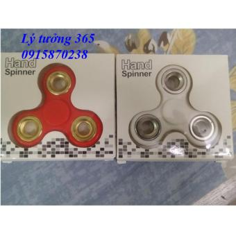 Combo 2 con quay cao cấp Hand Spinner ( Trắng + đỏ)