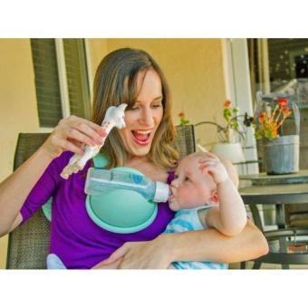 Dụng cụ giữ cố định bình sữa hand free baby bottle holder