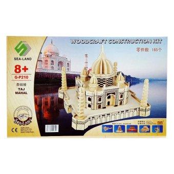 Bộ đồ chơi lắp ghép gỗ mô hình đền thờ Tai Maha Ân Độ