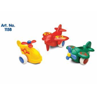 Máy bay Chubbies VikingToys - Set 3 máy bay