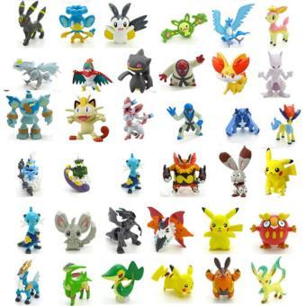 Bộ 24 tượng thú C'MON TOYS Pokemon GO cao 2-3cm (Be)