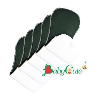 Bộ 5 miếng lót tã vải ban đêm Size L (14 - 24kg)