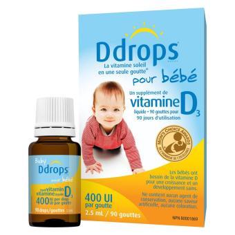 Baby Ddrops D3 (400IU)