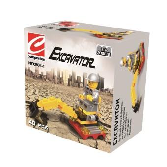 Bộ lắp ráp Excavator Companion SPK806 (Vàng)