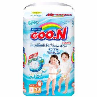 Tã quần Goon L48 9-14 kg (Trung tính L)