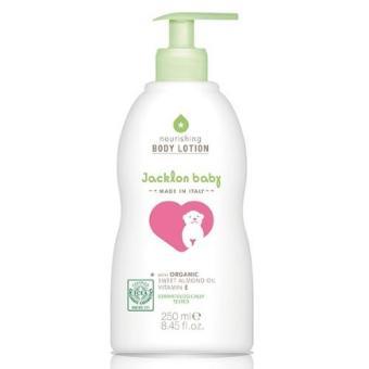 Kem dưỡng da toàn thân cho trẻ sơ sinh JACKLON BABY BODY LOTION 250 ML