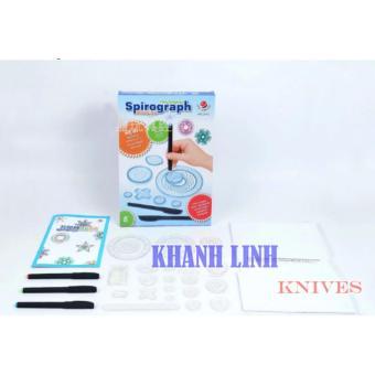 Bộ đồ chơi vẽ họa tiết đa chức năng Spirograph Deluxe Kit cực sáng tạo - Khánh Linh