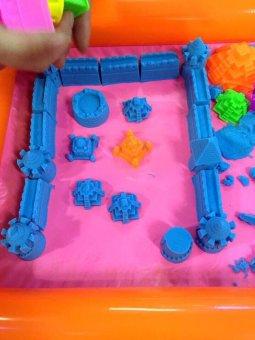 Bộ bể khuôn cát nặn Clever Mart tăng khả năng sáng tạo cho bé