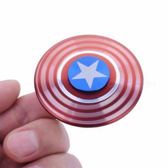 Con quay Fidget Spinner Captain American cực chất (Có video chi tiết)