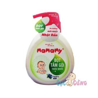 Bọt tắm gội thiên nhiên Mamamy - Hương việt quất Bluberry - 400ml
