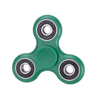 Tri-Spinner Fidget Toy EDC Hand Spinner Anxiety Stress Relief (Green) - intl