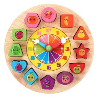 Đồ chơi dạng đồng hồ số Đồ chơi gỗ A+ AYZ0132