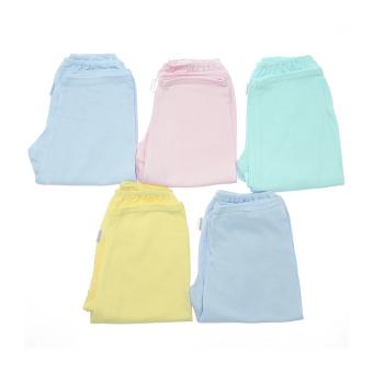 Bộ 5 quần dài rã đáy màu viền Nanio QN010