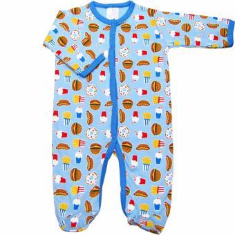 Áo liền quần liền tất cho bé trai Baby Gear (Mẫu khoai tây 2)